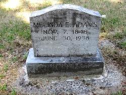 Melinda Elizabeth <i>Ham</i> Adams