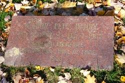 Wilbur Pete Henry