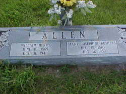 Mary Josephine <i>Boshers</i> Allen
