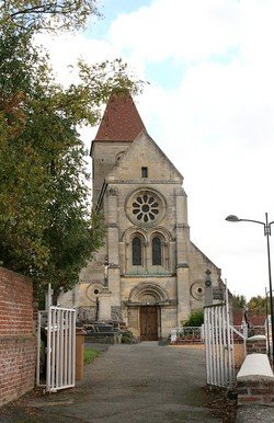 Roye sur Matz Churchyard
