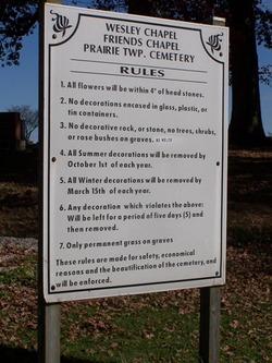 Friends Chapel Cemetery