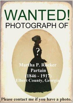 Martha Pennina <i>Rucker</i> Partain