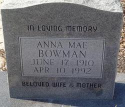 Anna Mae <i>Futch</i> Bowman