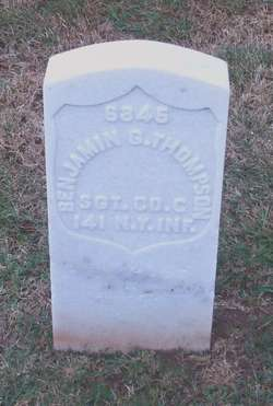 Sgt Benjamin G. Thompson