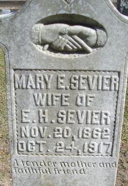 Mary Elizabeth <i>Hines</i> Sevier