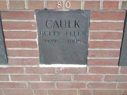 Betty Ellen <i>Siccardi</i> Caulk