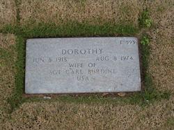 Dorothy Mae <i>Gann</i> Burdine