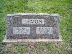 Bertha Pearl <i>Behner</i> Banks/Lemon