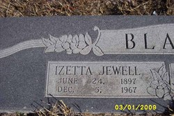 Izetta Jewell Mayhew <i>Hurst</i> Blakley