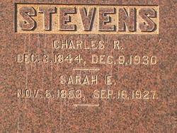 Sarah Emma <i>Walrod</i> Stevens