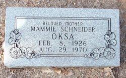 Mammie <i>Schneider</i> Oska