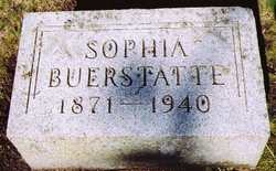 Sophia <i>Eberhardt</i> Buerstatte