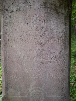 Harriet <i>Wright</i> Calhoun