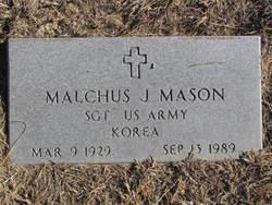 Sgt Malchus J. Mason