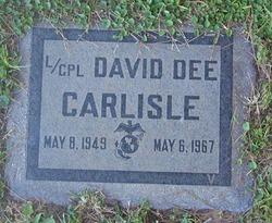 LCpl David Dee Carlisle