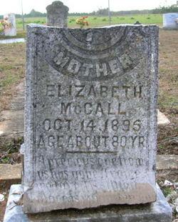 Elizabeth <i>Seay</i> McCall