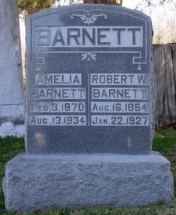 Amelia V. <i>Brigham</i> Barnett