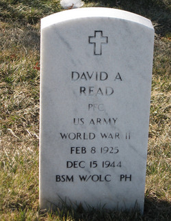 PFC David A Read