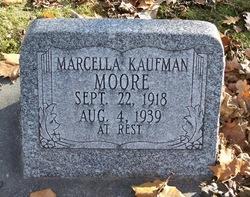 Marcella <i>Kaufman</i> Moore