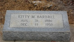 Kitty Clyde <i>Mock</i> Barbree