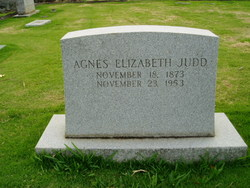 Agnes Elizabeth Judd
