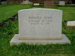 Bernice Judd
