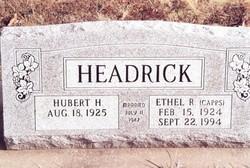 Ethel Ruth <i>Capps</i> Headrick