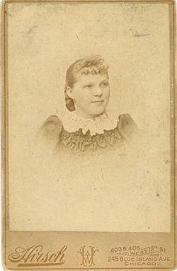 Bertha <i>Erdman</i> Alm
