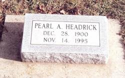 Pearl A. Headrick