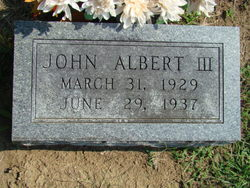John Albert, III