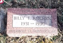 Billy E. Kitchen