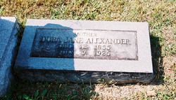 Dora Jane <i>Allan</i> Alexander