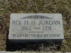 Rev Henry Harrison Jordan
