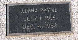 Alpha Payne