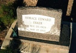 Horace Edward Ekker