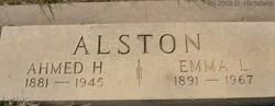Emma L. <i>Elliott</i> Alston