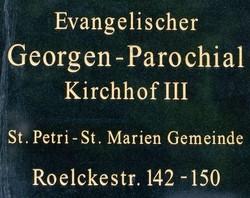 Georgen-Parochial-Friedhof III