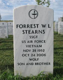 Forrest W L Stearns