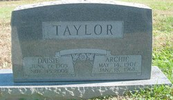 Daisy <i>Frieze</i> Taylor