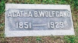 Agatha Barbara <i>Schwalm</i> Wolfgang