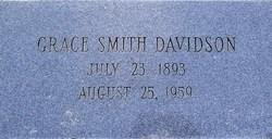 Grace <i>Smith</i> Davidson