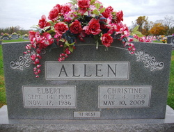 Betty Christine <i>Pemberton</i> Allen