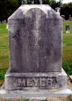 Marrie Elizabeth <i>Baldauf</i> Meyer