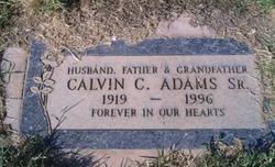 Calvin C Adams