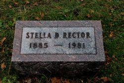 Stella D. <i>Becker</i> Rector