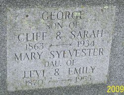 Mary <i>Sylvester</i> Morway