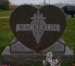 Pauline <i>Jakosh</i> Wackerlin