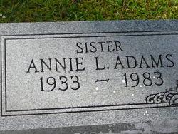 Annie L Adams