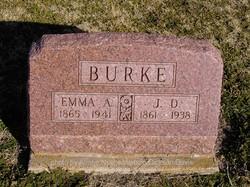 Emma Alice <i>Balfour</i> Burke
