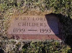 Mary Loree <i>Agee</i> Childers